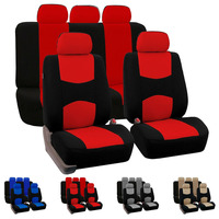 Dewtreetali Four Seasons 9pcs Full Set Car Seat Covers Universal Fit Car Seat Front Rear Protectors