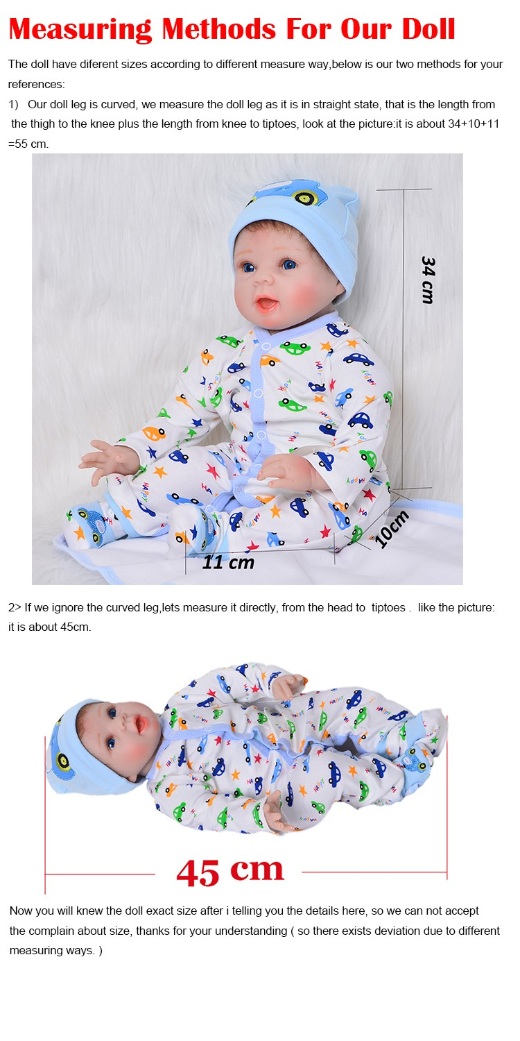 Toys & Hobbies Analytical 2018 New Arrival Girl Silicone Vinyl Reborn Baby Doll Mold Creative Lifelike Kits Full Limb Baby Toys Doll Accessories Dolls Accessories