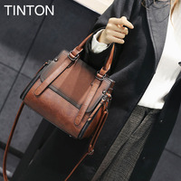 HAOQING New Fashion Shoulder Bags For Women 2018 Suede PU Leather Retro Bag Luxury Designer Crossbody