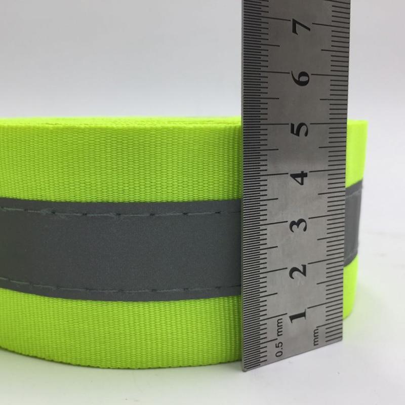 50 mm szélességű fluoreszkáló sárga és fluoreszkáló - Biztonság és védelem - Fénykép 3