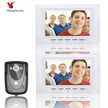Yobang Security freeship 7″Inch Video Door Phone Doorbell Home Security intercom Color TFT LCD HD Decor Video Intercom Doorbell
