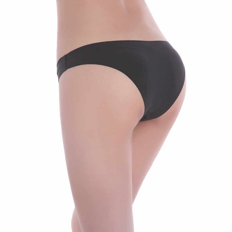 bdc0f9ee043 ... Women Sexy Low-Rise G-string Lingerie Panties Female Thongs Seamless T- back ...
