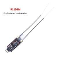 Radiolink R12DSM 2 4G 12 Channels Receiver 12CH RX FSS DSSS For Radiolink Transmitters AT9 AT9S