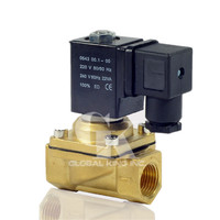 DC 12V Electric Solenoid Valve Switch Water Air G3/8 Brass Normally Closed N/C