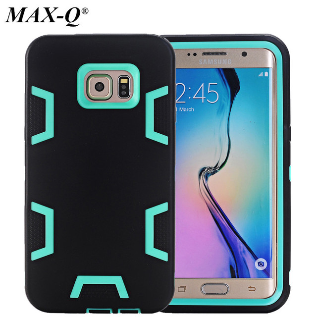 cheap for discount d4902 60db4 US $7.36 |For S6 Edge Plus Shockproof Hybrid Armor Rubber Heavy Duty Case  Cover For Samsung Galaxy S6 Edge Plus G9280 Phone Cases-in Fitted Cases  from ...