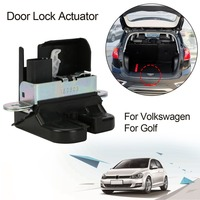 (FromDE) Rear Trunk Boot Lid Lock Latch Replacement 2009 2013 For Volkswagen VW For Golf 5 For PASSAT 3C5 For VARIANT 5K0827505A