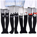 2017 New Minnie Mouse Korean Cartoon Baby Girl Tights Cotton Cute Children Stocking Baby Pantyhose For Kid 1-14 Years