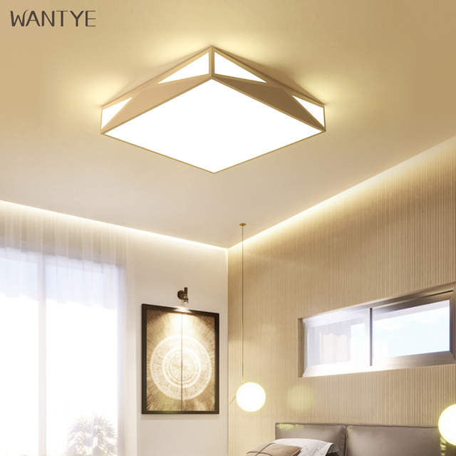 Acrylic LED Square Ceiling Light Lighting Fixtures For Kids Bedroom Extraordinary Light Fixture For Dining Room Creative