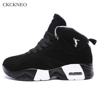 Winter Mens Basketball Shoes Male Ankle Boots Couple Comfort Outdoor Jordan Sneakers Women Athletic Shoes Sport