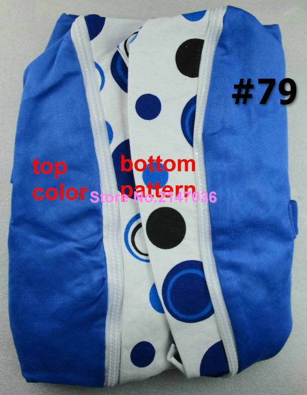 canvas bean bag chairs buy cotton canvas cow and blue dots custom print