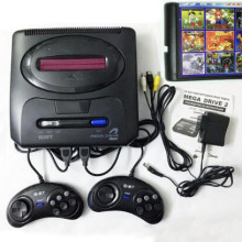 16 бит SEGA MD 2 игровая консоль с переключателем режимов США и Японии, для оригинальных ручек SEGA экспорт в Россию с 55 классическими играми