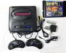 16 Bit Sega Md 2 Video Game Console Met Ons En Japan Schakelaar, voor Originele Sega Handgrepen Export Rusland Met 55 Klassieke Games