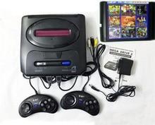 16 битная игровая консоль SEGA MD 2 с американским и японским переключателем режимов, для оригинальных SEGA с поддержкой экспорта в россию с 55 классическими играми