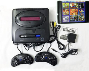 Image 1 - 16 bit SEGA MD 2 Video Game Console with US and Japan Mode Switch,for Original SEGA handles Export Russia with 55 classic games