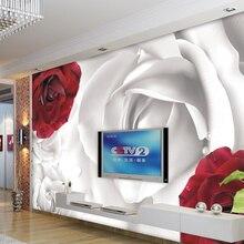 Custom red roses wallpaper, ros