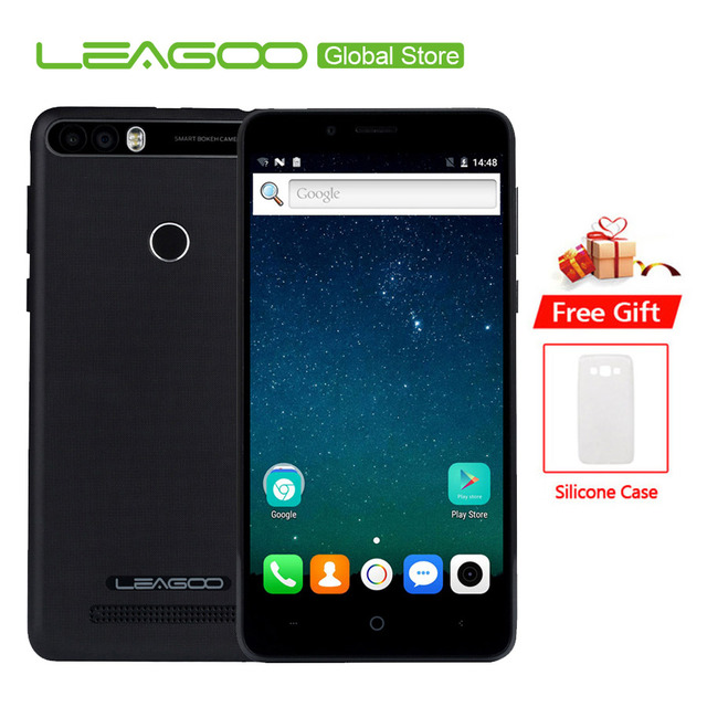 Leagoo Kiicaa power 4000 мАч мобильный телефон 5,0 ''hd MT6580A 4 ядра Android 7,0 2 Гб оперативная память 16 Встроенная 8.0MP двойной задняя камера