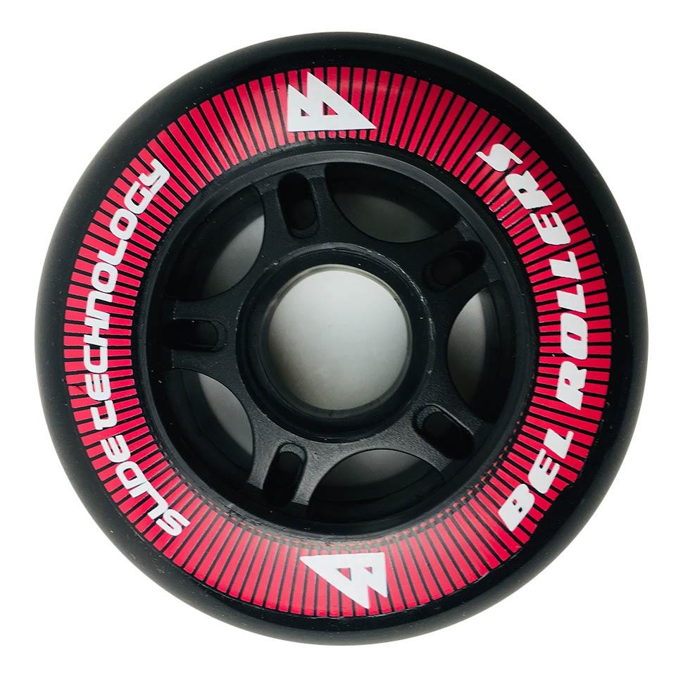 Japy Roller Skate Wheels 4 Pieces / Lot 85A 80mm PU Tires Inline Skate Slalom Sliding Skating For SEBA Powerslide Patines