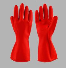 Wholesale 3 pc/lot Thick rubber durable waterproof protective gloves wide mouth chores cleaning gloves tendon industrial gloves strong 0 35mmpb medical x ray protective gloves ray workplace use gloves lead rubber gloves