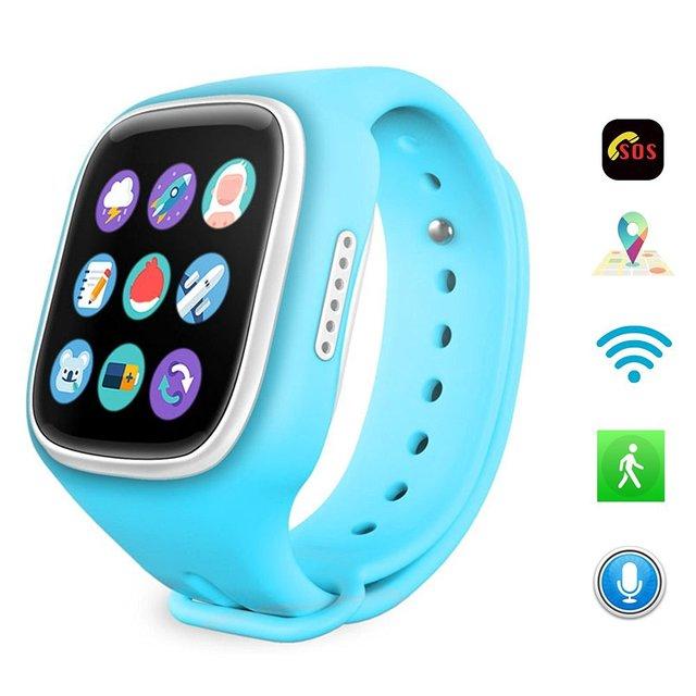 A6 rastreador crianças smart watch gps crianças smart watch com apoio sos telefone gsm android & ios anti perdido