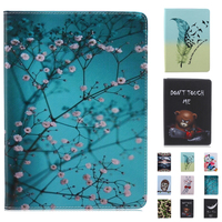 For Samsung Tab A 8 0 T350 T351 Giraffe Print Pu Leather Case Stand Cover For
