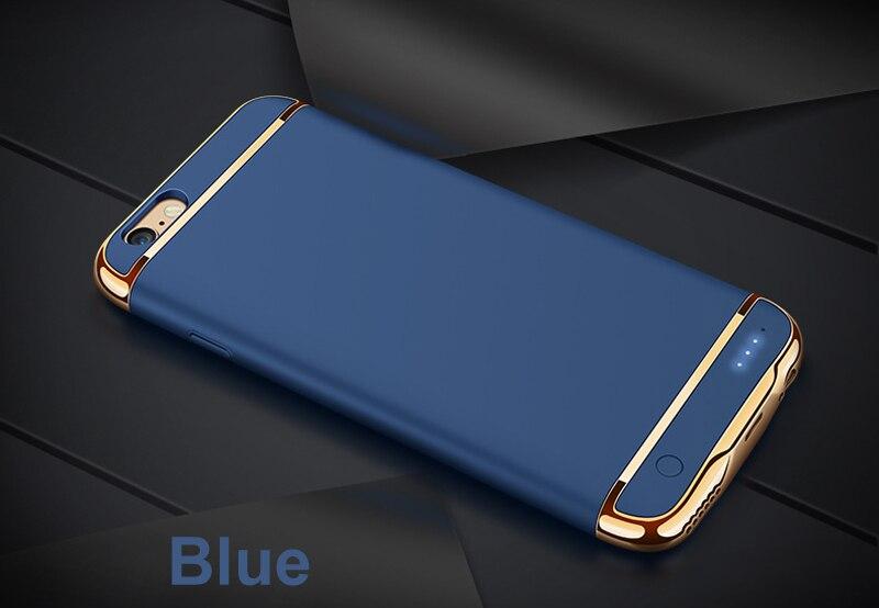 imágenes para 2500/3500 mAh Caso del Banco de Potencia Portátil Para iPhone 7 Plus 7 PowerBank Cargador de Batería de Reserva externo Para el iphone 6 6 S Plus