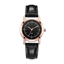 Women Men Quartz-watch Leather Band Wristwatches Clock Fashion Watches