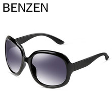 BENZEN Women Polarized Sunglasses Oversized Sunglasses for Women Female Sun Glasses Oculos De Sol Feminino  With Case 6023