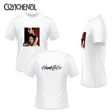 Killing Eve oversized Print tee funny customize tshirt solid color modal tops short sleeve O-neck men T-shirt homme COYICHENOL стоимость