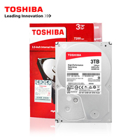 Toshiba brand 3TB desktop computer 3.5 internal mechanical hard disk SATA3 6Gb/s hard disk 3000GB HDD 7200RPM buffer