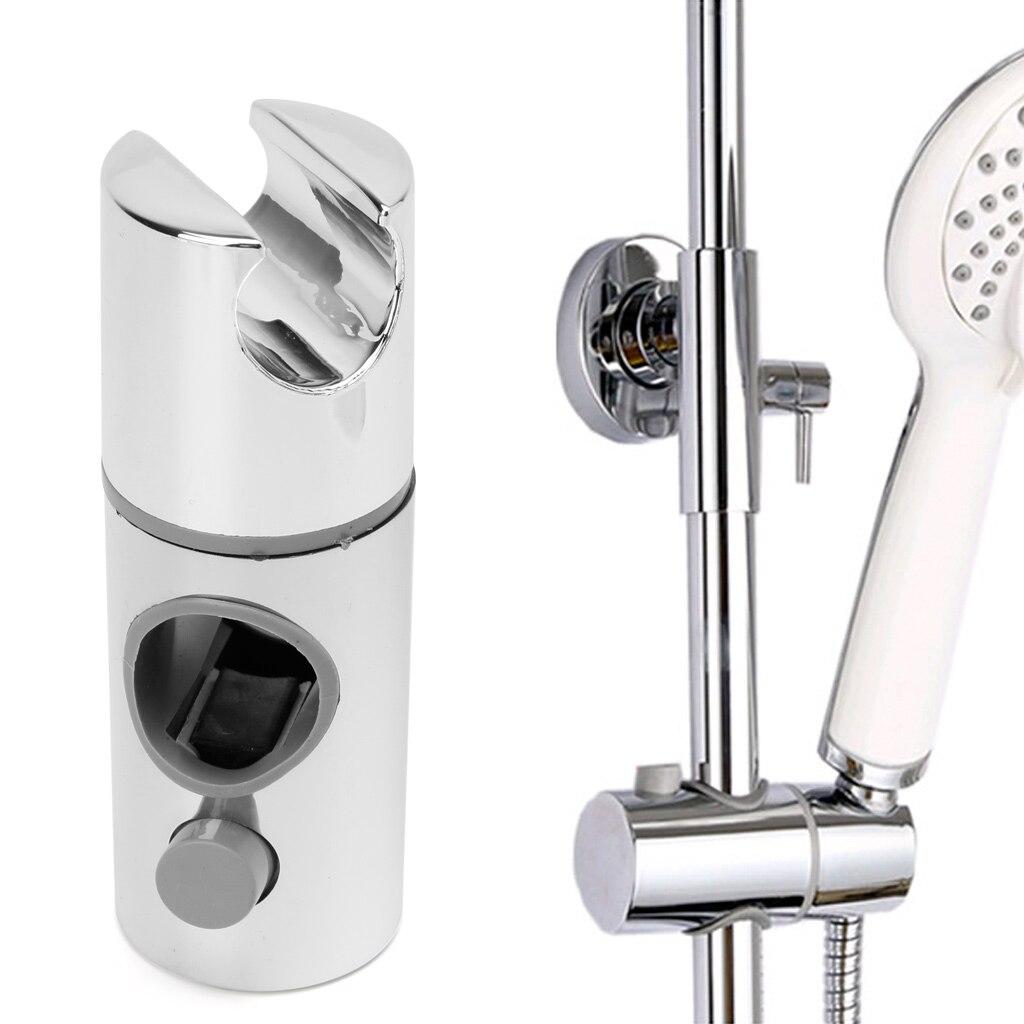 Chrome Plated Head Holder Hand Held Shower Bracket Holder For Bathroom Slide Bar