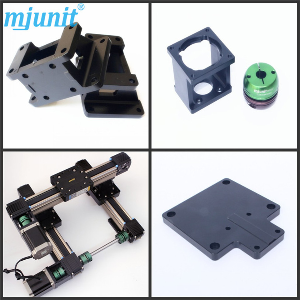 Linear axis with toothed belt drive/Belt Drive Linear rail//reasonable price guideway 3D printer Linear way ball linear rail guide roller shaft guideway toothed belt driven
