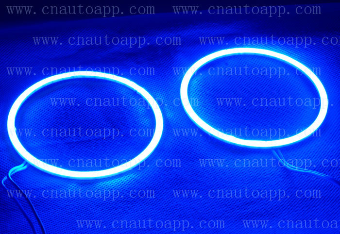 Angel Eyes Super LED Light Ring For Car Headlights Motorcycle 75MM 5W x 2 (one pair) White /Amber /Red /Green /Blue/Pink 2pcs purple blue red green led demon eyes for bixenon projector lens hella5 q5 2 5inch and 3 0inch headlight angel devil demon