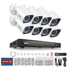 ANNKE 6MP 8-КАНАЛЬНЫЙ NVR Сетевой Цифровой 1080 P Открытый Камеры Безопасности Фермы Системы