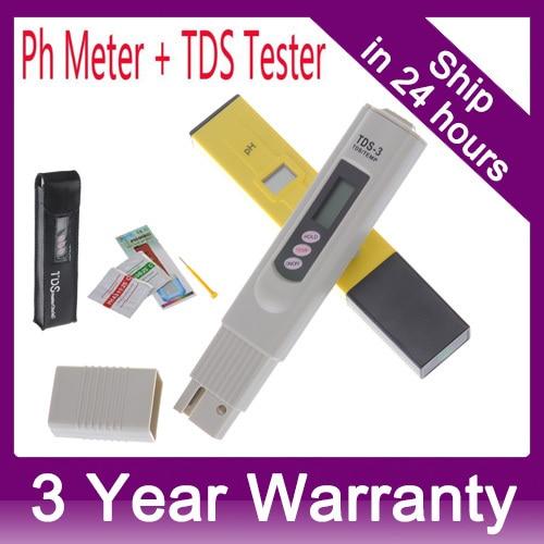 Digital PH Meter + TDS Tester Monitor For Aquarium, Fishing, Industry, Swimming  Pools