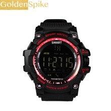 EX16 Xwatch Esportes Bluetooth 4.0 IP67 À Prova D' Água 5ATM Relógio inteligente Smartwatch Pulseira Relógio Despertador Cronômetro LONGO TEMPO de ESPERA