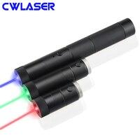 CWLASER 5 в 1 10000 м мощный сжигание лазерный 532nm зеленый/650nm красный/450nm синий лазер указатели набор с ключом и роскошный чехол