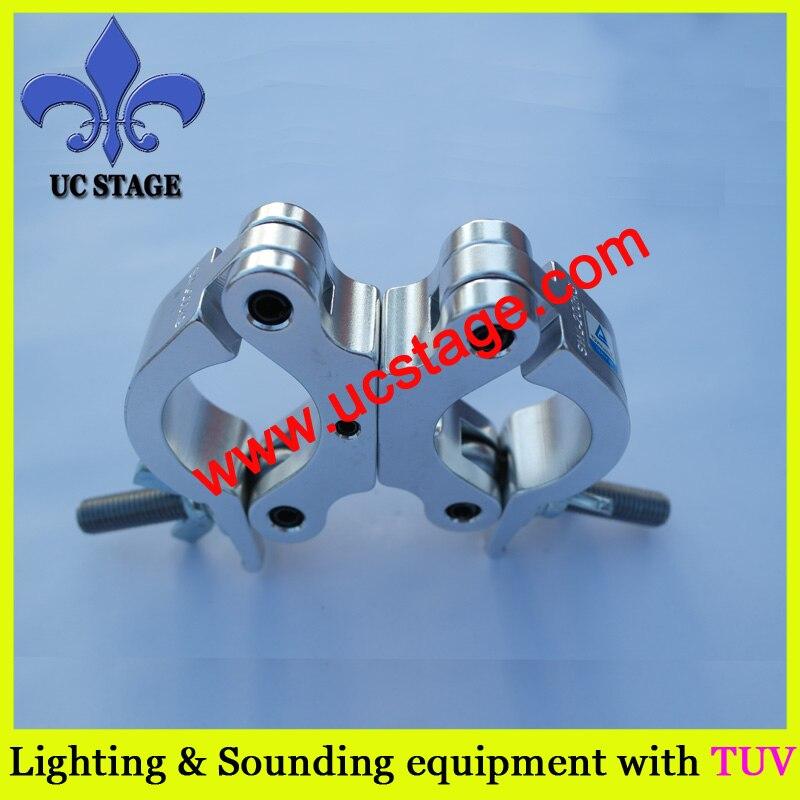 Truss Hook Clamp 10PCS Heavy Duty 48-51mm swivel Stage Light Hook Clamp/Truss clamps/Moving Head Light Par Light Spotlight Truss