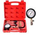 Automotivo Testador de Compressão Do Motor A Gasolina Kit de Teste de Medidor de Válvula Ferramenta Motocicleta