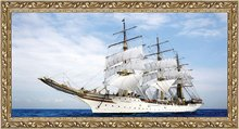 Free shipping big size wall gobelin tapestries,nautical style picture,paintings for living room wall