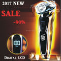 3-В-1 Популярные электробритвы триммер обрезка лезвие бритвы мужчин технологии станок для бритья бритья водонепроницаемый электробритвы