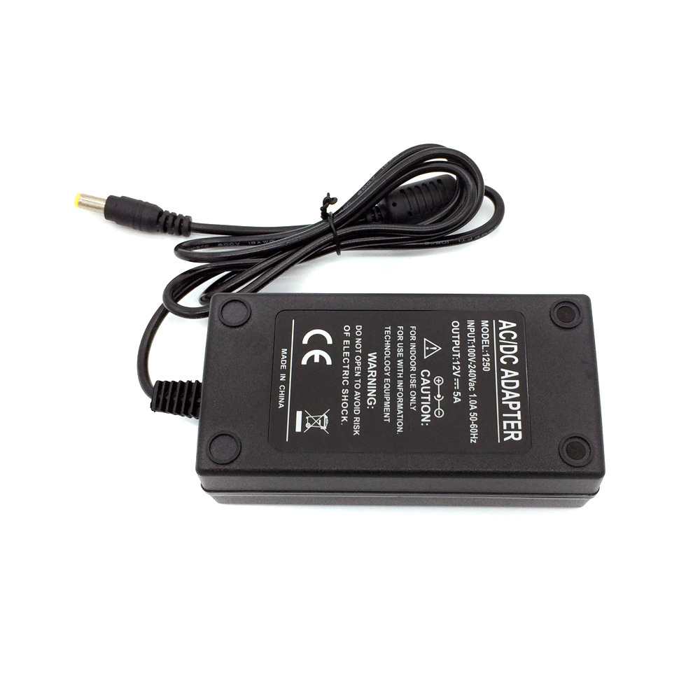 12V-5A-60W-Power-adapter-supply-220v-110v-ac