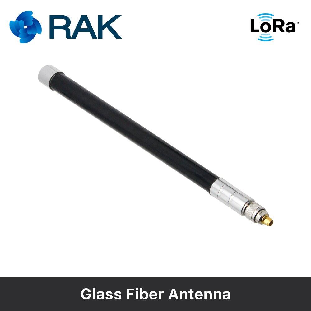 Glas Fiber Antenne 6dbm Gain LoRa Gateway Antenne RAK831 Verbinden Kabel mit Krawatte Linie, männlich/Weibliche Stecker 433/470/868/915 mhz