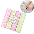 Baby Cotton Flannel Baby Blankets/ Soft and Comfortable Flannel Blankets/Receiving Blankets 76*76cm TRQ0012