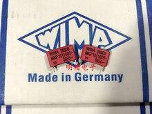 цена на 2019 hot sale 10pcs/20pcs Germany WIMA MKP10 1600V 0.0068UF 6800PF 1600V 682 P: 15mm Audio capacitor free shipping