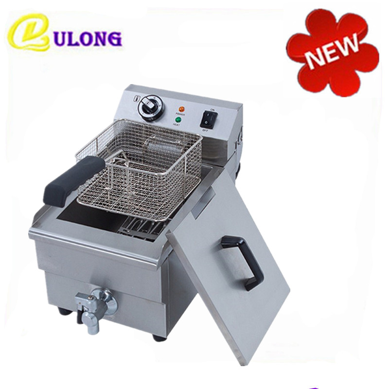 Home Use Mini Deep Fryer Multifunctional  Oil Boiler Machine with Fryer Basket for French Fries Chicken home healthy non stick electric deep fryer smokeless electric air fryer french fries machine for home using af 100 1pc