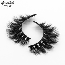 Genailish Mink Eyelashes Natural 3D Eyelashes HandMade Thick Mink Lashes False Eye Lashes Superior Quality-EYL07