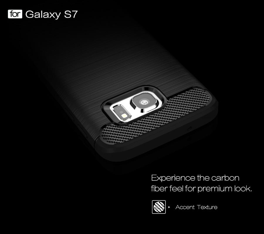 Anti mengetuk Batal Pelindung Kasus Untuk Samsung galaxy Kasus S7 - Aksesori dan suku cadang ponsel - Foto 4