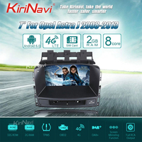 KiriNavi Octa core 4G LET android 7 car radio for Buick Excelle XT GT Opel Astra J gps navigation 2008 2013 support 4K 4G