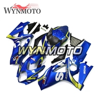 Complete Fairings Kit For Suzuki GSXR1000 K7 Year 2007 2008 ABS Plastic Injection Blue Yellow New Motorcycle Bodywork