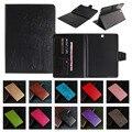 Top qualidade embossing suporte flip capa de couro para samsung galaxy tab S2 9.7 T810 T815 Tablet Pc Tampa Traseira Do Caso com Cartão Slots